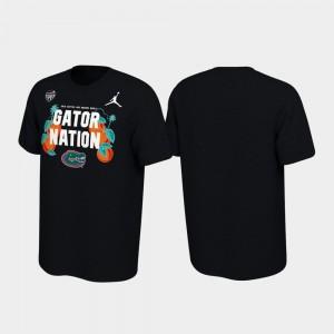 Florida Gators T-Shirt Verbiage Black For Men 2019 Orange Bowl Bound