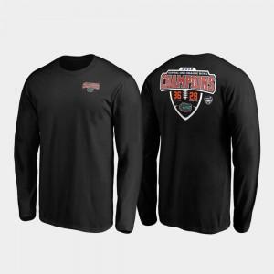 Florida Gators T-Shirt Hometown Lateral Long Sleeve 2019 Orange Bowl Champions For Men Black