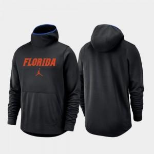 Florida Gators Hoodie Basketball Team Logo Pullover Men Black Spotlight