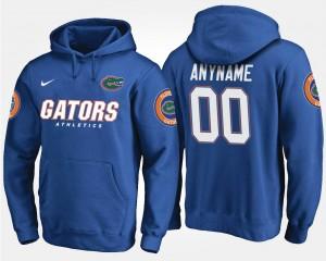 Florida Gators Customized Hoodies Blue #00 Men