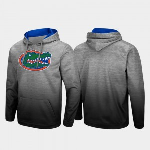 Florida Gators Hoodie Pullover Heathered Gray For Men's Sitwell Sublimated