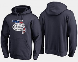 Florida Gators Hoodie Navy Big & Tall For Men's Banner State