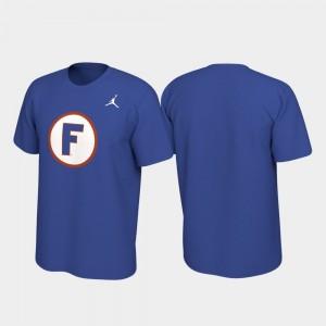 Florida Gators T-Shirt For Men Alternate Jersey Performance Royal