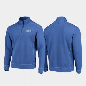Florida Gators Jacket Royal Half-Zip Pullover Tommy Bahama College Sport Nassau Men's