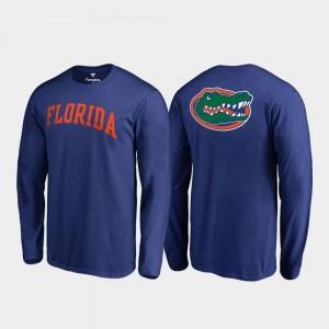 Florida Gators T-Shirt Royal Long Sleeve For Men Primetime