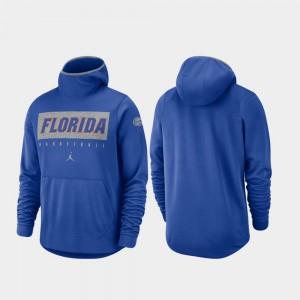 Florida Gators Hoodie Men Royal Basketball Spotlight