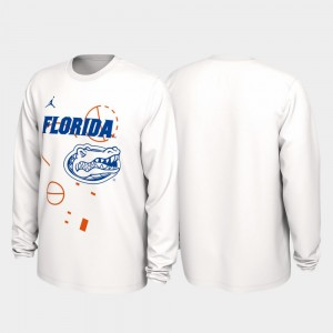 Florida Gators T-Shirt Men Our Time Bench Legend White 2020 March Madness