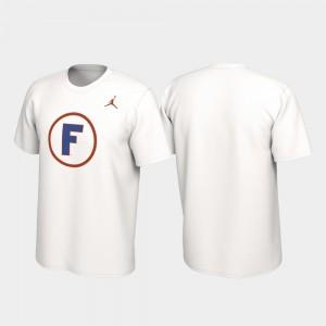Florida Gators T-Shirt Men Alternate Jersey White Performance