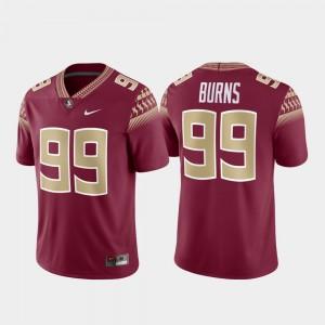 Florida State Seminoles Brian Burns Jersey For Men Garnet Alumni Football Game #99