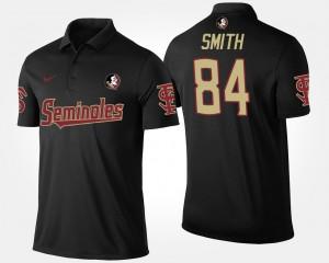 Florida State Seminoles Rodney Smith Polo Men Black #84