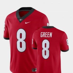 Georgia Bulldogs A.J. Green Jersey Red Mens Player Alumni Football Game #8