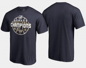 GW Colonials T-Shirt 2018 Atlantic 10 Champions Men Navy Basketball Conference Tournament