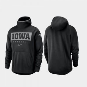 Iowa Hawkeyes Hoodie Spotlight Basketball Black Men's
