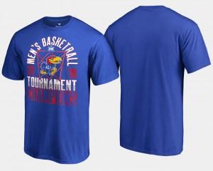 Kansas Jayhawks T-Shirt Basketball Conference Tournament Mens 2018 Big 12 Champions Royal