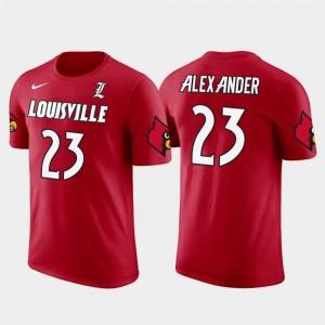 Louisville Cardinals Jaire Alexander T-Shirt Men Future Stars #23 Red Green Bay Packers Football