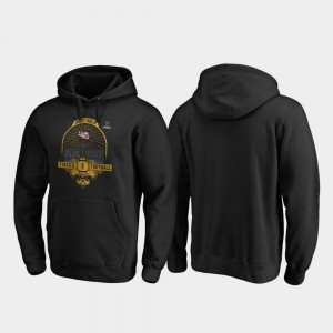 LSU Tigers Hoodie Mens 2020 National Championship Bound College Football Playoff French Quarter Black