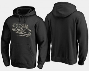 LSU Tigers Hoodie Black Camo Cloak For Men's Big & Tall