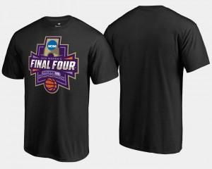 March Madness T-Shirt Basketball Tournament Black Final Four Paint Mens