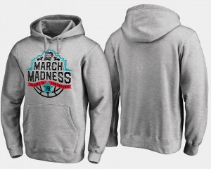 March Madness Hoodie Men Final Four Tipoff Basketball Tournament Gray
