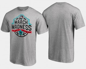 March Madness T-Shirt Gray Basketball Tournament Final Four Tipoff For Men's