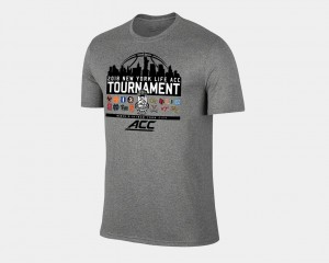 March Madness T-Shirt Men's Heather Gray 2018 ACC All Team Basketball Conference Tournament