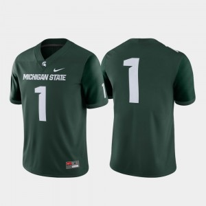 Michigan State Spartans Jersey Game For Men #1 College Football Green