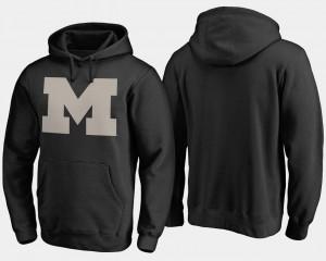 Michigan Wolverines Hoodie Camo Cloak Big & Tall Men Black