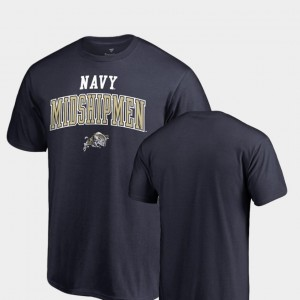 Navy Midshipmen T-Shirt Navy Men's Square Up
