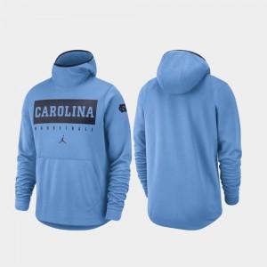 North Carolina Tar Heels Hoodie Basketball Spotlight Carolina Blue Men's