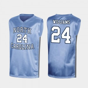 North Carolina Tar Heels Kenny Williams Jersey March Madness Mens Royal Special College Basketball #24