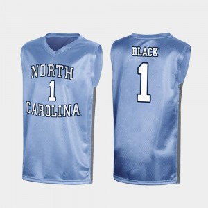 North Carolina Tar Heels Leaky Black Jersey Mens Royal March Madness #1 Special College Basketball