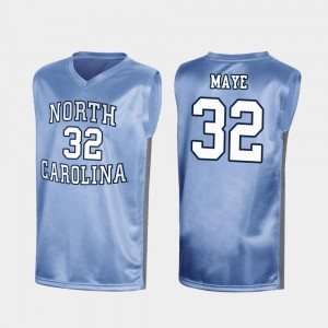 North Carolina Tar Heels Luke Maye Jersey For Men's Special College Basketball #32 Royal March Madness