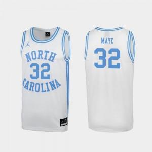 North Carolina Tar Heels Luke Maye Jersey Special College Basketball March Madness White Mens #32