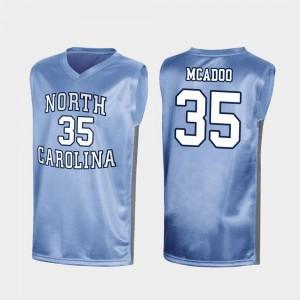 North Carolina Tar Heels Ryan McAdoo Jersey #35 Special College Basketball For Men March Madness Royal