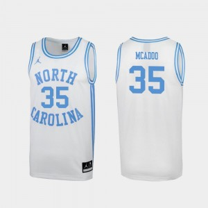 North Carolina Tar Heels Ryan McAdoo Jersey March Madness #35 Special College Basketball Men's White