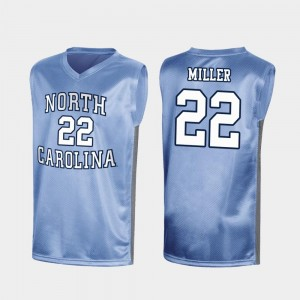 North Carolina Tar Heels Walker Miller Jersey Royal #22 Special College Basketball Mens March Madness