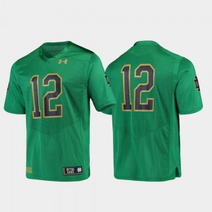 Notre Dame Fighting Irish Jersey Replica For Men Green Football #12