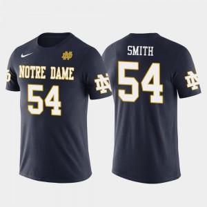 Notre Dame Fighting Irish Jaylon Smith T-Shirt Future Stars Men's Dallas Cowboys Football #54 Navy
