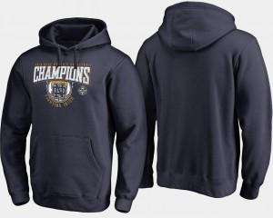 Notre Dame Fighting Irish Hoodie Basketball 2018 National Champions Rebound Men's Women's Basketball Navy
