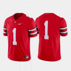 Ohio State Buckeyes Jersey Scarlet College Football Limited #1 For Men's