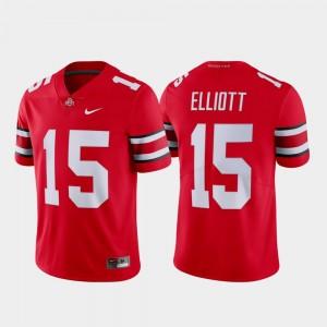 Ohio State Buckeyes Ezekiel Elliott Jersey Scarlet Limited #15 For Men's Name & Number