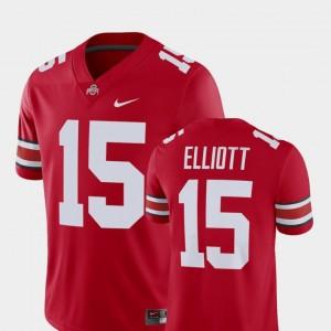 Ohio State Buckeyes Ezekiel Elliott Jersey For Men Scarlet Player #15 Alumni Football Game