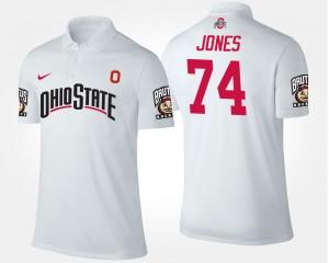 Ohio State Buckeyes Jamarco Jones Polo #74 Men White
