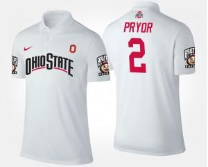 Ohio State Buckeyes Terrelle Pryor Polo White For Men #2