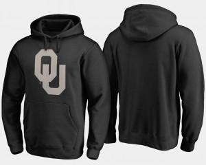 Oklahoma Sooners Hoodie Men Camo Cloak Black Big & Tall