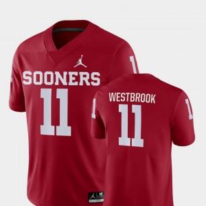 Oklahoma Sooners Dede Westbrook Jersey Crimson #11 For Men Game College Football