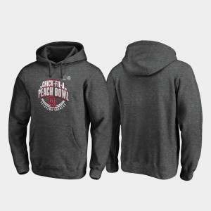 Oklahoma Sooners Hoodie Scrimmage Heather Gray 2019 Peach Bowl Bound For Men
