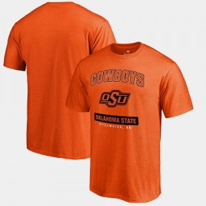 Oklahoma State Cowboys and Cowgirls T-Shirt Big & Tall Men's Campus Icon Orange