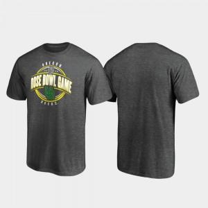 Oregon Ducks T-Shirt Heather Gray 2020 Rose Bowl Bound Scrimmage Men's