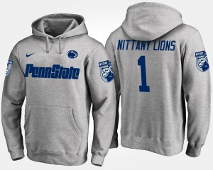 Penn State Nittany Lions Hoodie No.1 For Men's #1 Gray